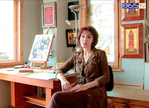 Иконописецът Антоанета Германова