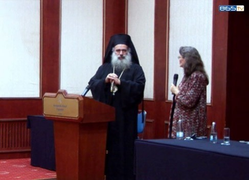 Посещение на архиепископ Теодосий